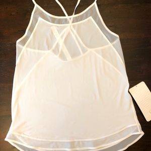 Lululemon Mix and Mesh Tank